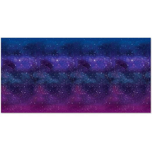 Birthday Party Decorations Galaxy Backdrop Image