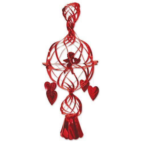 Hanging Metallic Cupid