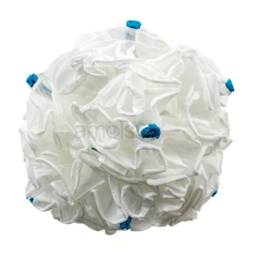 "White Peonies Bunch of 4 (7"")"