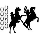 Western Decorations Western Silhouettes Image