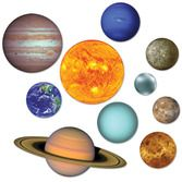 Birthday Party Decorations Solar System Cutouts Image