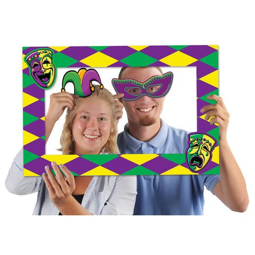 Mardi Gras Decorations Mardi Gras Photo Fun Frame Image