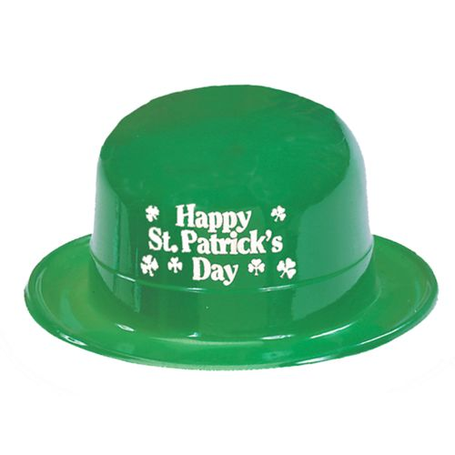 St. Patrick's Day Plastic Derby