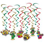 Fiesta Decorations Fiesta Pals Whirls Image