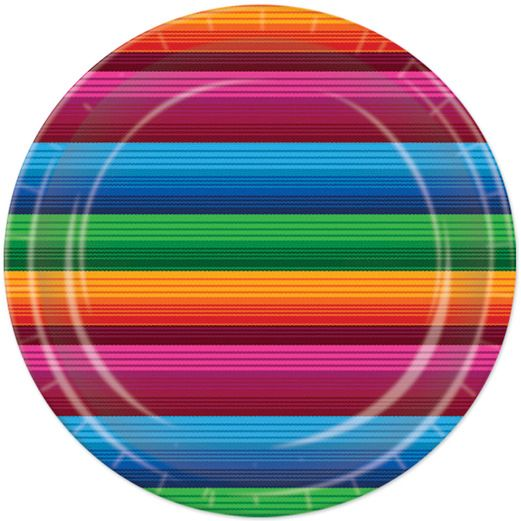 Fiesta Table Accessories Fiesta Serape Luncheon Plates Image