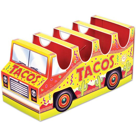 Fiesta Decorations 3-D Taco Truck Centerpiece Image