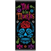 Day of the Dead Decorations Day of the Dead Door Cover Image