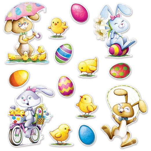 Easter Decorations Easter Cutouts Image