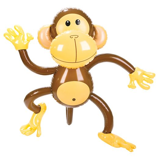 "Favors & Prizes 27"" Monkey Inflate Image"