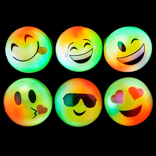 Glow Lights Emoji Flashing Rings Image