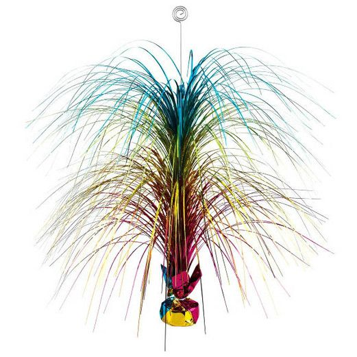 Decorations Multicolor Spray Centerpiece Image