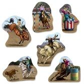 Western Decorations Rodeo Cutouts Image