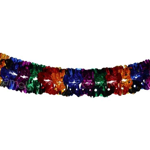 Cinco de Mayo Decorations Large Metallic Multicolor Garland Image