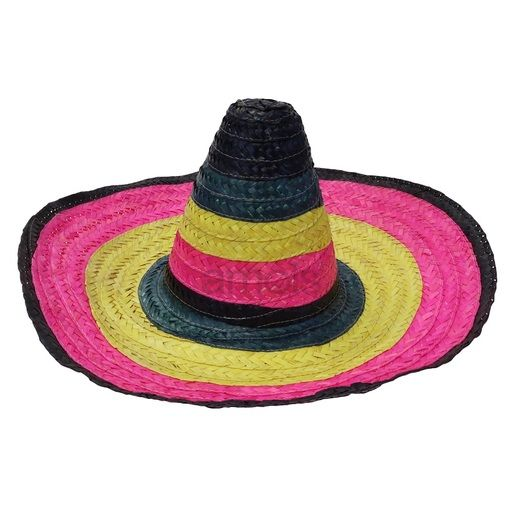 Cinco de Mayo Hats & Headwear Child's Rainbow Sombrero Image