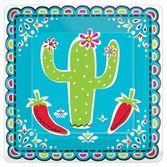 "Fiesta Table Accessories Picado de Papel 7"" Square Plates Image"
