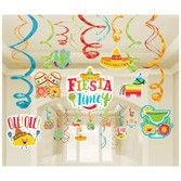 Fiesta Decorations Fiesta Mega Value Pack Swirls Image