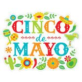 Cinco de Mayo Decorations Cinco de Mayo Cutout Image