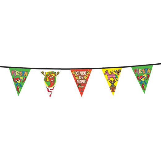 Cinco de Mayo Decorations Cinco de Mayo Pennant Banner Image
