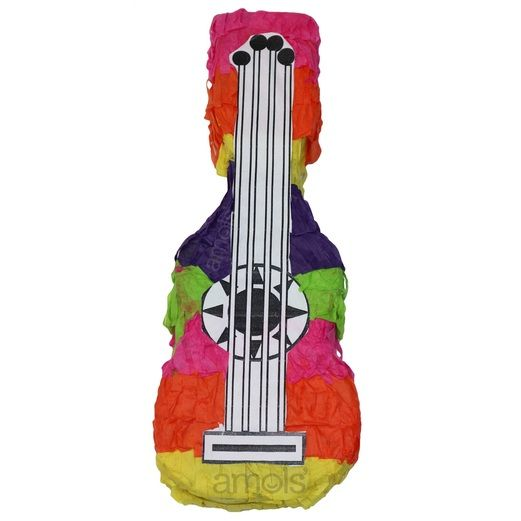 Mini Guitar Pinata Image