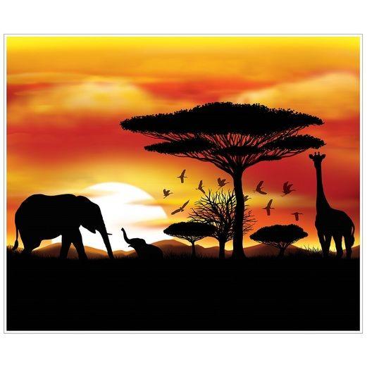 Jungle & Safari Decorations Safari Insta-Mural Image
