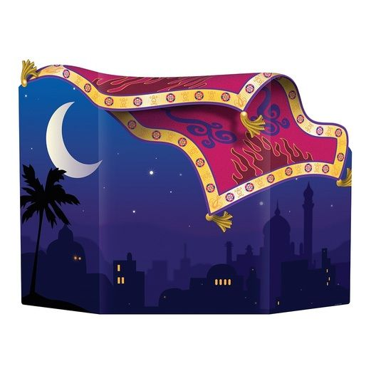 Birthday Party Decorations Magic Carpet Photo Prop Image