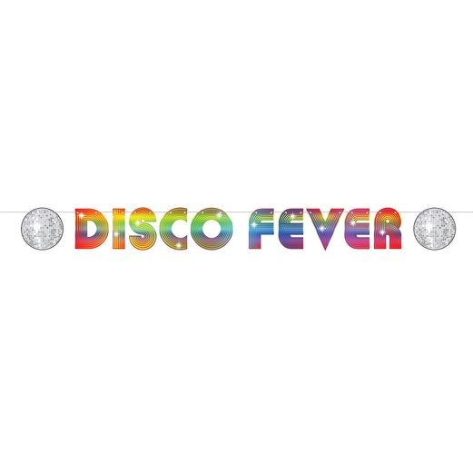 60s & 70s Decorations 70's Disco Fever Streamer Image