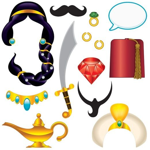 Birthday Party Decorations Arabian Nights Photo Fun Signs Image