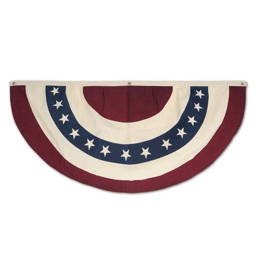 Patriotic Decorations Americana Fabric Bunting Image