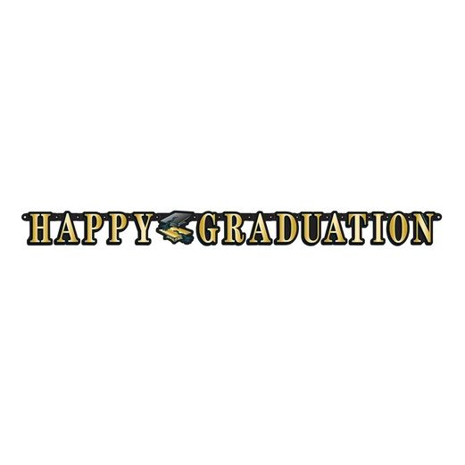 Graduation Decorations Happy Graduation Streamer Image