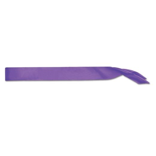 Party Wear Purple Satin Sash Image