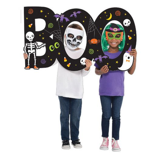 Halloween Decorations Boo Jumbo Photo Prop Image