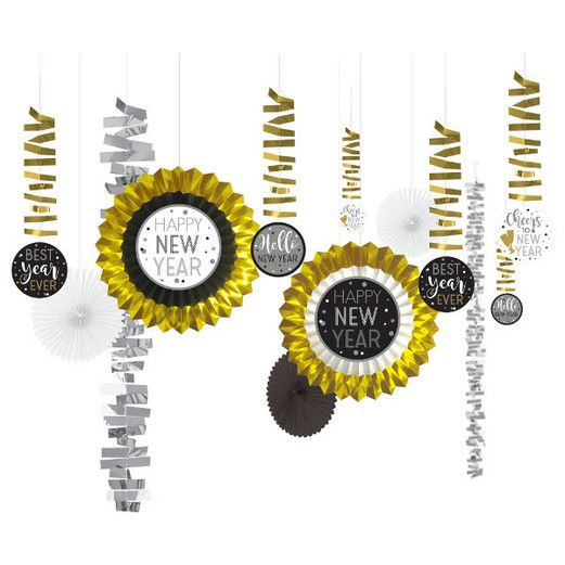 New Years Decorations New Year Decorating Kit Image