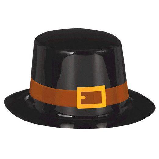 Thanksgiving Hats & Headwear Pilgrim Top Hat Image