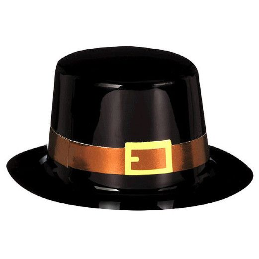 Thanksgiving Decorations Pilgrim Mini Top Hat Image