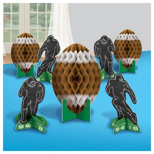 Sports Decorations Football Centerpiece Kit Image