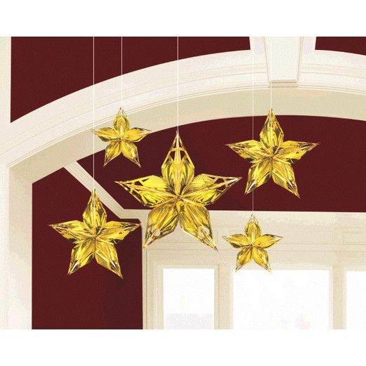 Decorations Glitz and Glam Metallic Star Image