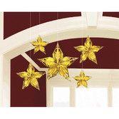 Decorations Glitz and Glam Metallic Star Image