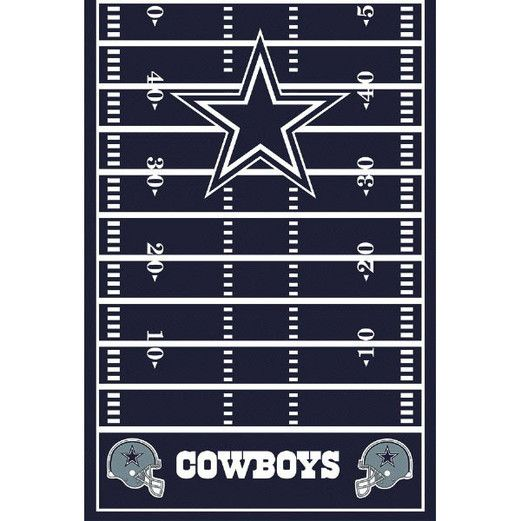 Sports Table Accessories Dallas Cowboys Tablecover Image