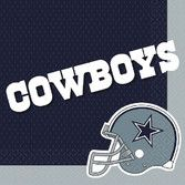 Sports Table Accessories Dallas Cowboys Lunch Nakins Image