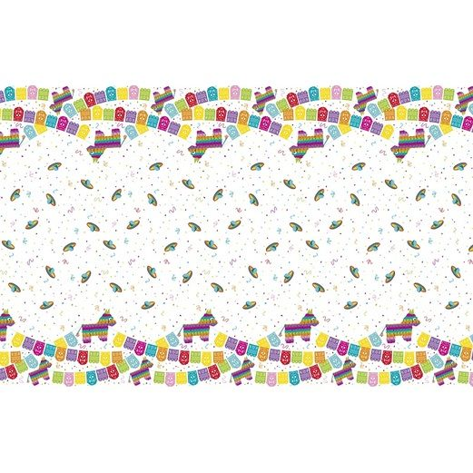 Fiesta Table Accessories Mexican Fiesta Plastic Tablecover Image