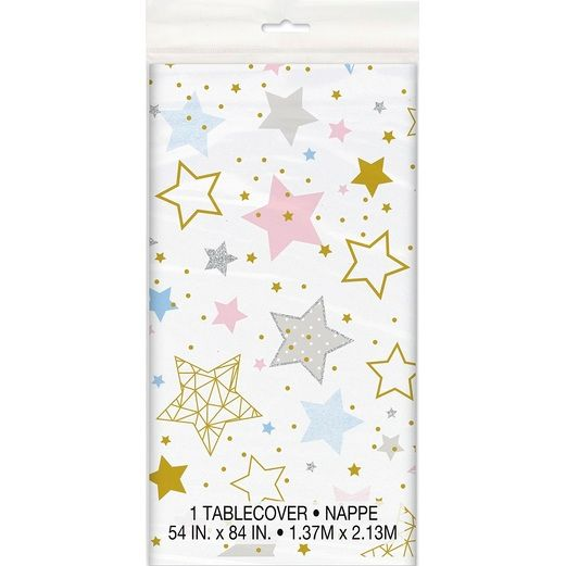 Baby Shower Table Accessories Twinkle Star Table Cover Image