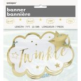 Baby Shower Decorations Twinkle Star Paper Garland Image