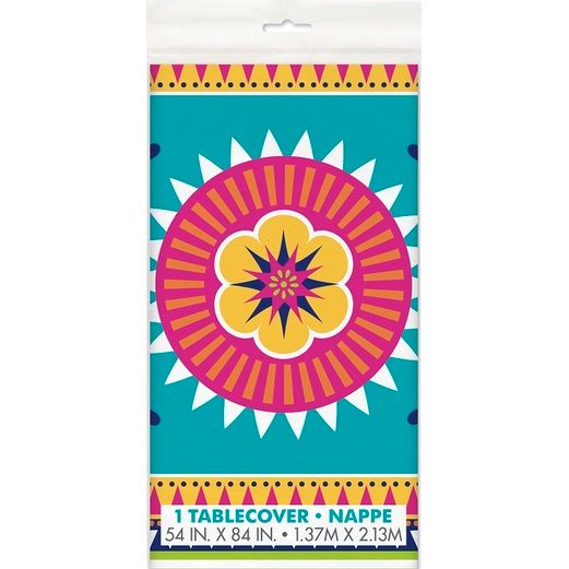Fiesta Table Accessories Boho Fiesta Plastic Tablecover Image