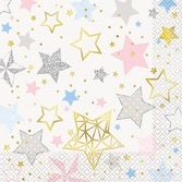 Baby Shower Table Accessories Twinkle Star Lunch Napkins Image