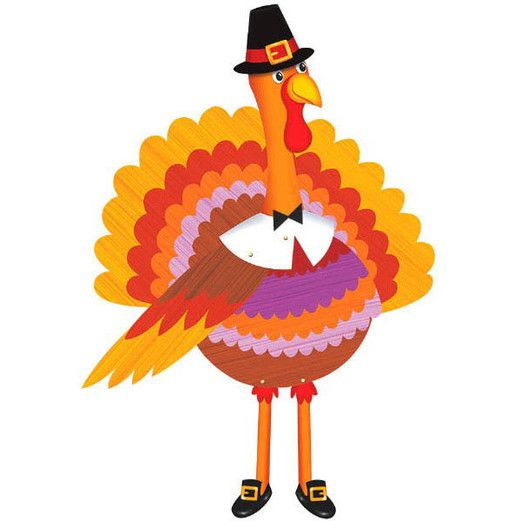 Thanksgiving Decorations Thanksgiving Turkey Cutout Image