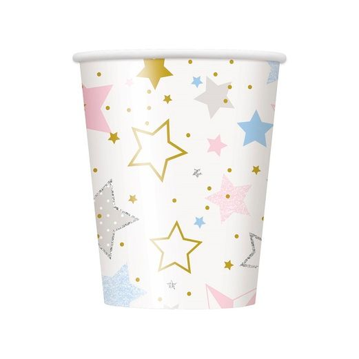 Baby Shower Table Accessories Twinkle Star 9oz Cups 8ct Image