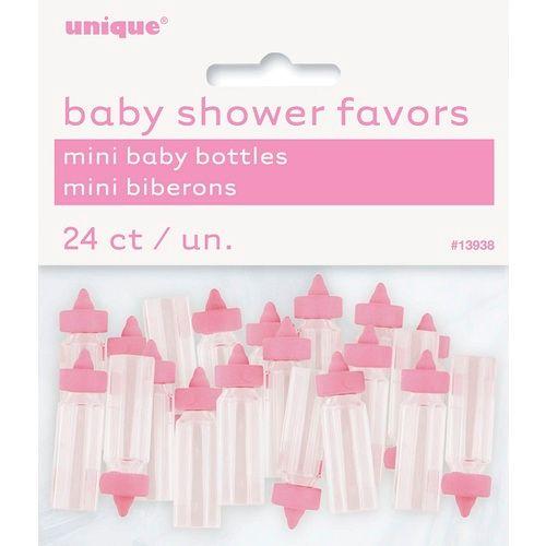 Pink Mini Baby Bottles