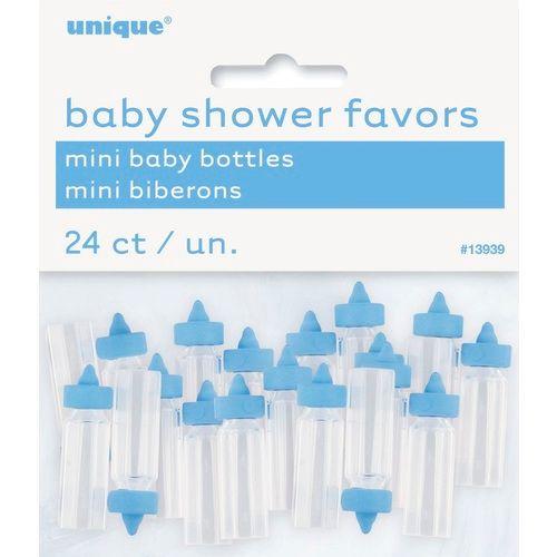 Blue Mini Baby Bottles