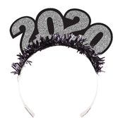 New Years Hats & Headwear 2020 Glittered Tiara Image
