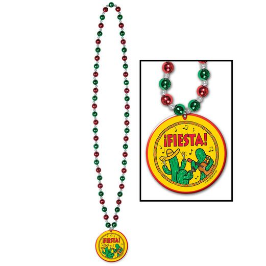 Fiesta Beads with Medallion